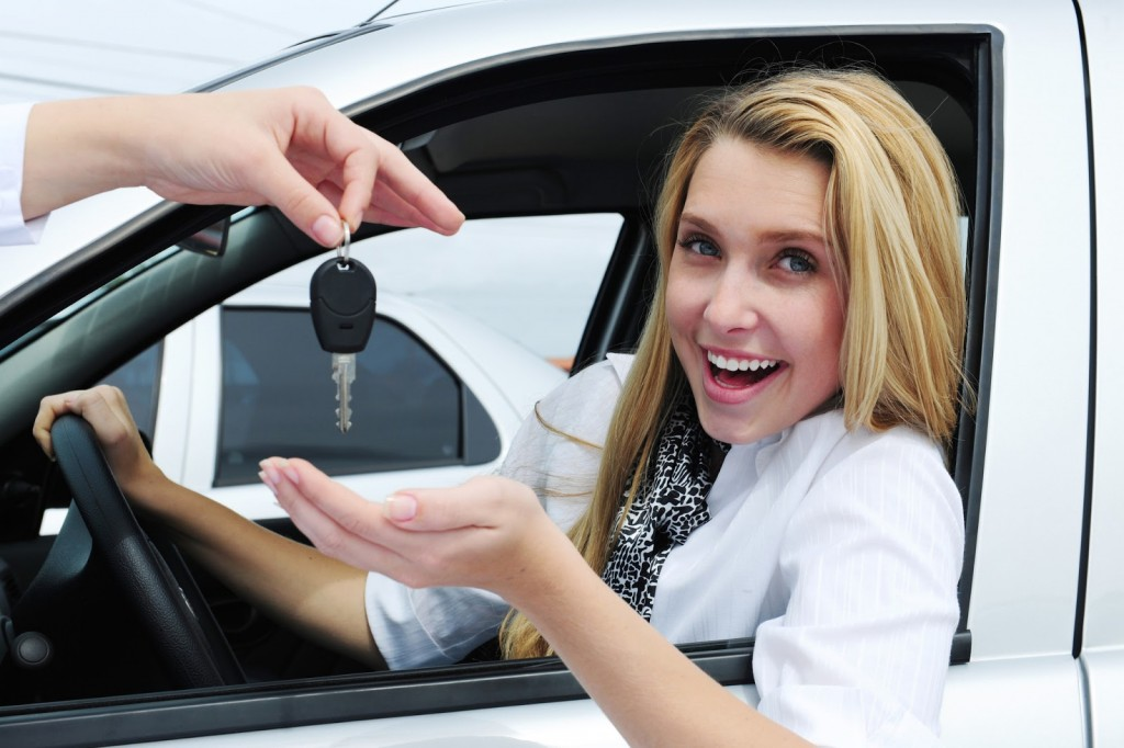 Auto-Loans-woman-car